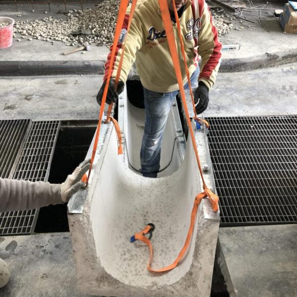 Via Taro (PR) Realizzazione infrastrutture per lavaggio bus